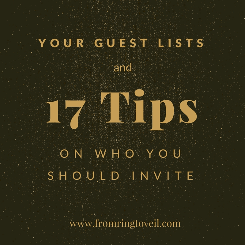 GUEST LISTS
