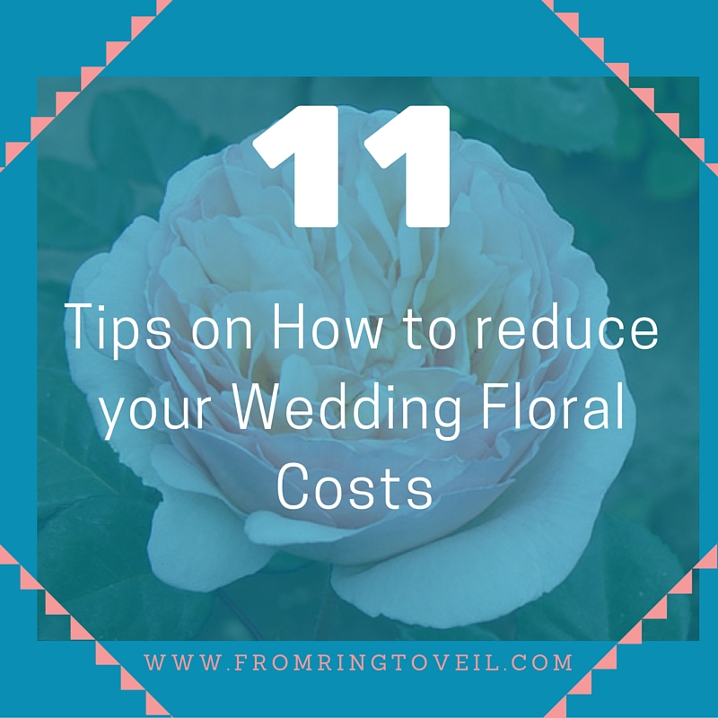 11tips on how to reduce your wedding floral costs, wedding planning