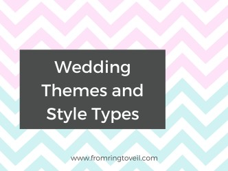 Themes and Wedding Style Types. wedding planning podcast