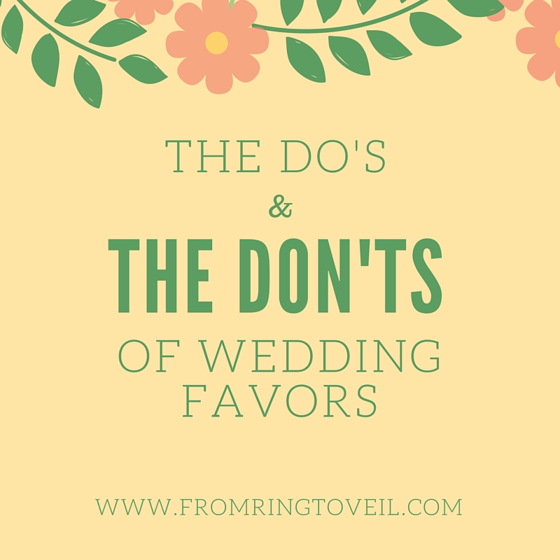 The Do's and Don'ts of Wedding Favors - Episode #35
