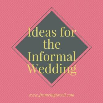 Informal Weddings