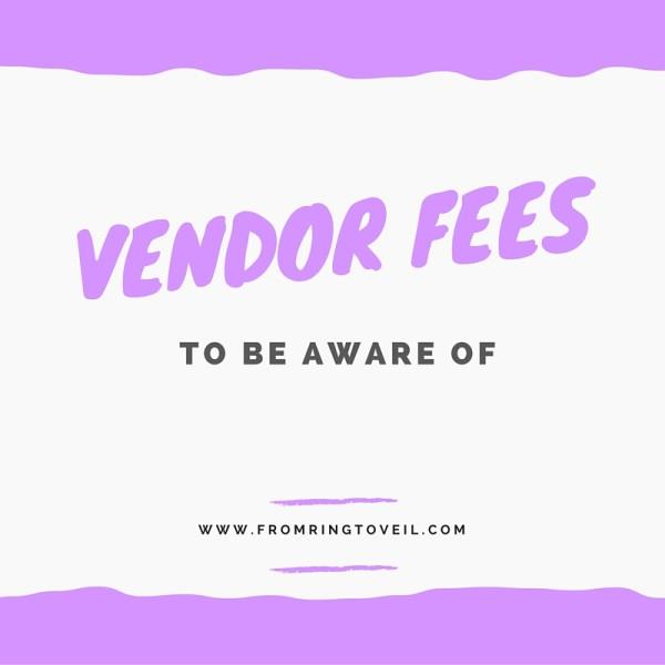 vendor fees