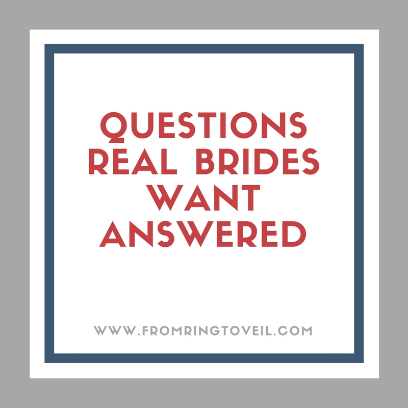 Questions Real Brides Want Answered Episode #65