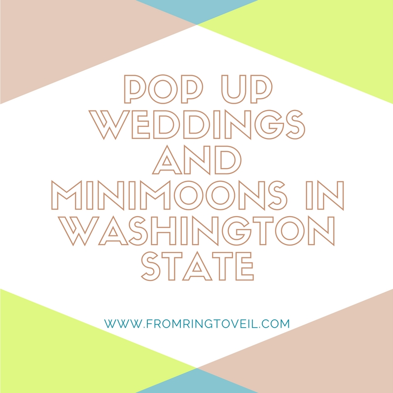 Pop Up Weddings and Minimoons in Washington State - Episode #71