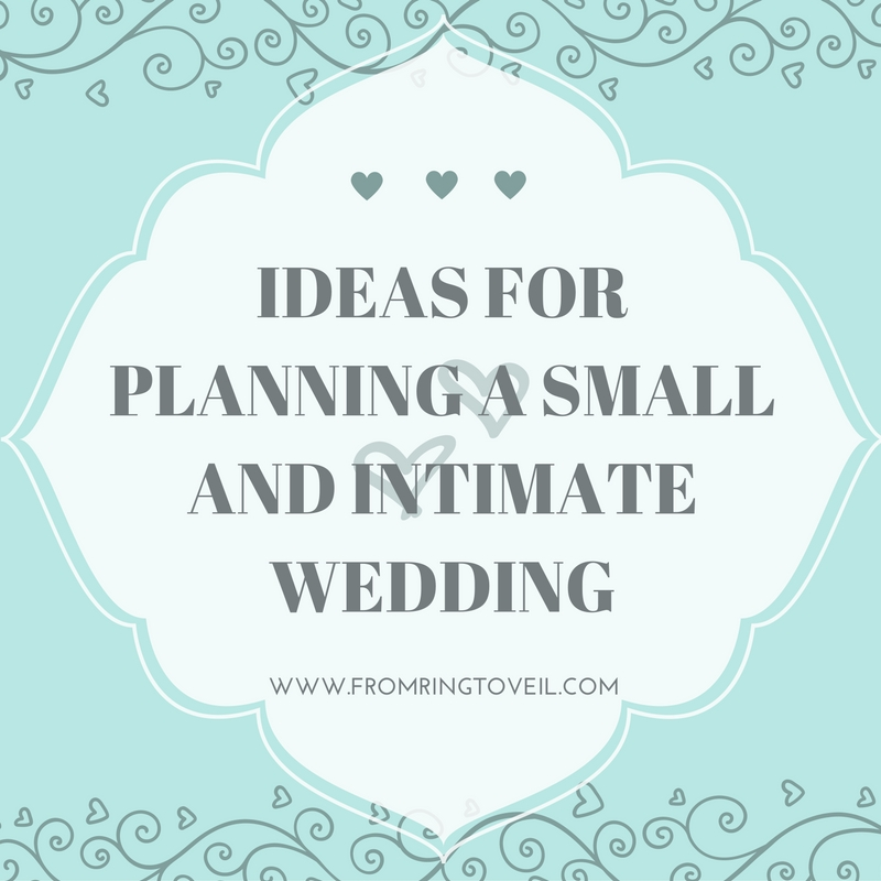 Ideas for Planning a Small and Intimate Wedding – Episode #77