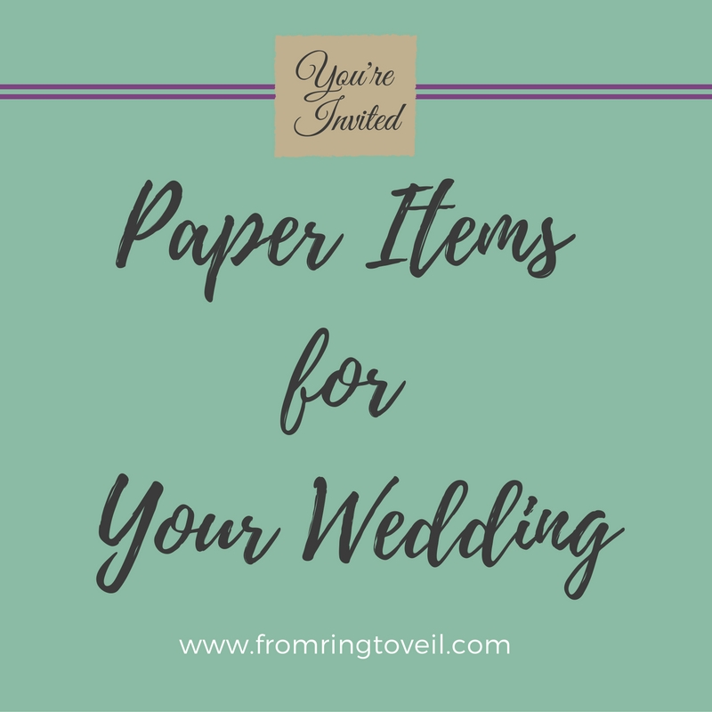 Paper Items for Your Wedding with guest host Ginger Herr - Episode #80