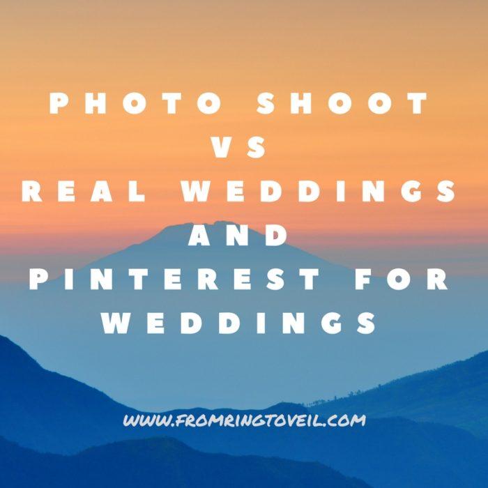pinterest, real wedding, photo shoot
