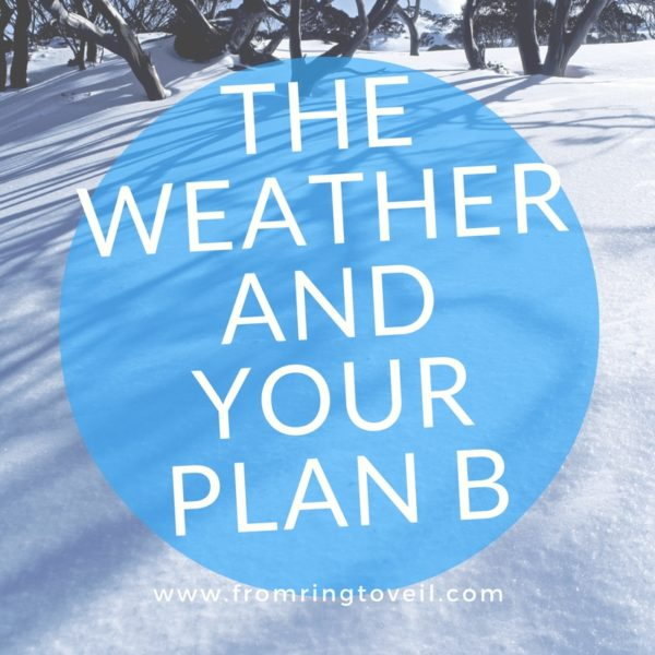 The Weather and Your Plan B, wedding planning podcast