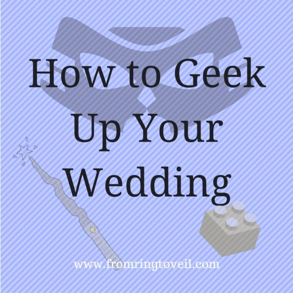 How to Geek Up Your Wedding, wedding planning podcast