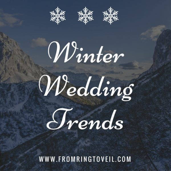 Winter Wedding Trends, wedding planning podcast