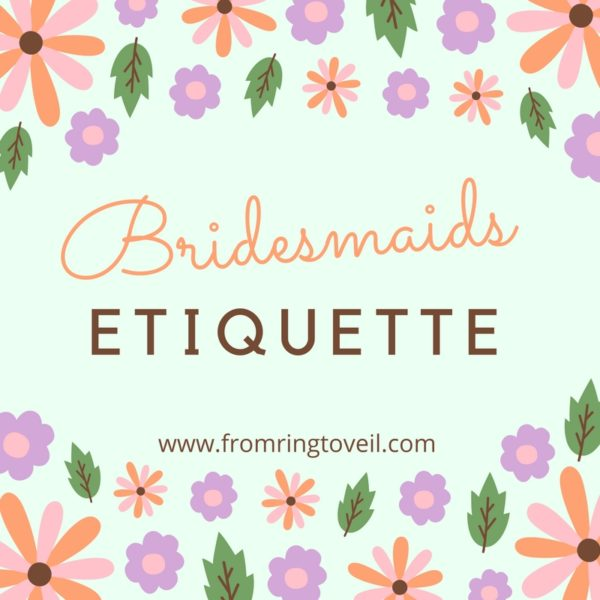 Bridesmaids Etiquette – Episode #94, wedding planning podcast