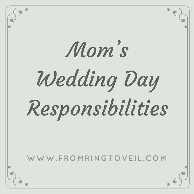 Mom's Wedding Day Responsibilities - Episode #97