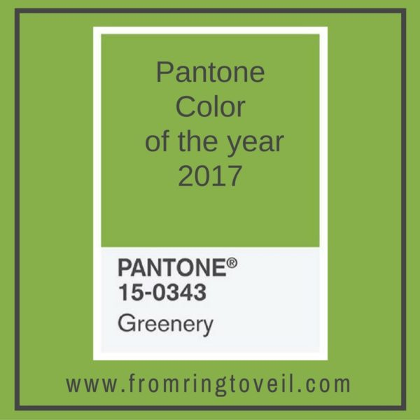 99 pantone color of the year from ring to veil wedding planning podcast. Black Bedroom Furniture Sets. Home Design Ideas