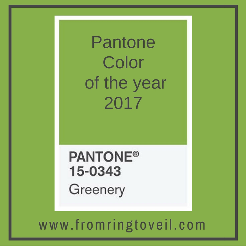 Pantone Color Of The Year 99 - pantone color of the year | from ring to veil wedding