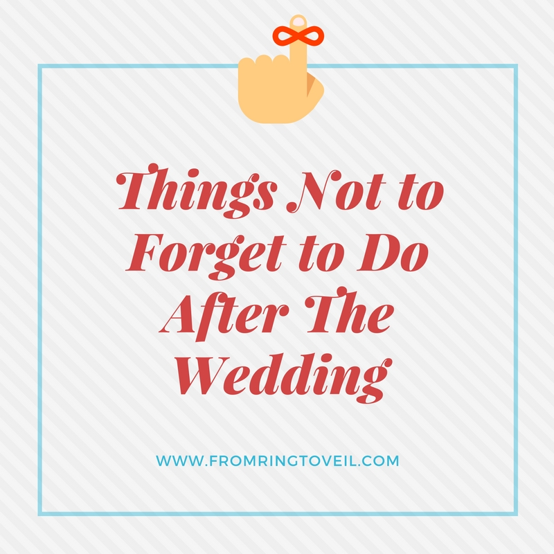 Things Not to Forget to Do After The Wedding – Episode #101