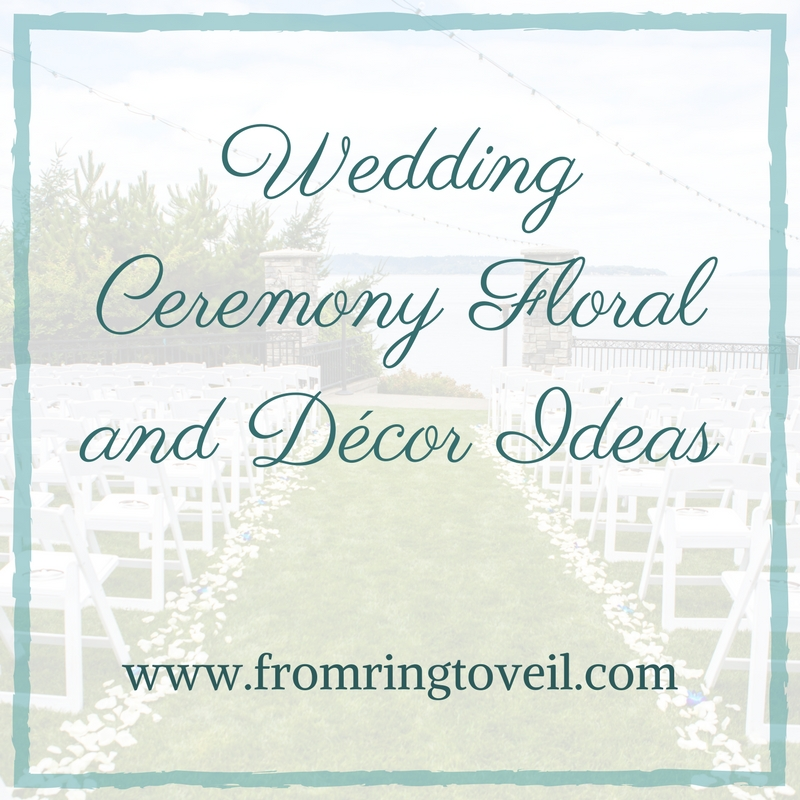 Wedding Ceremony Floral and Décor Ideas Episode #107