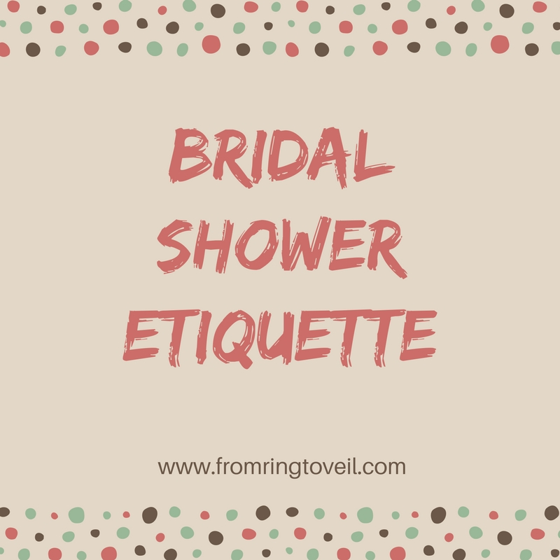 Bridal Shower Etiquette- Episode # 113