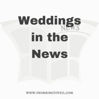 Weddings in the News