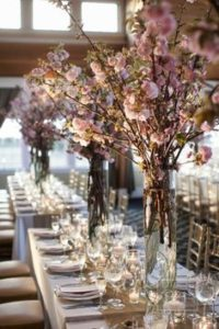 Blooming Branch centerpiece