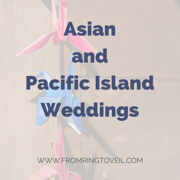 Asian and Pacific Island Weddings, new creations, Rebecca Grant