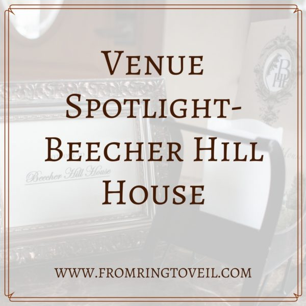 Venue Spotlight-Beecher Hill House, wedding planning podcast