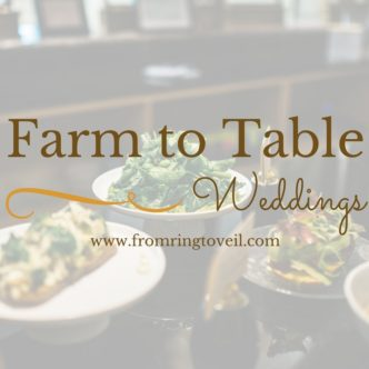 Farm to Table Weddings
