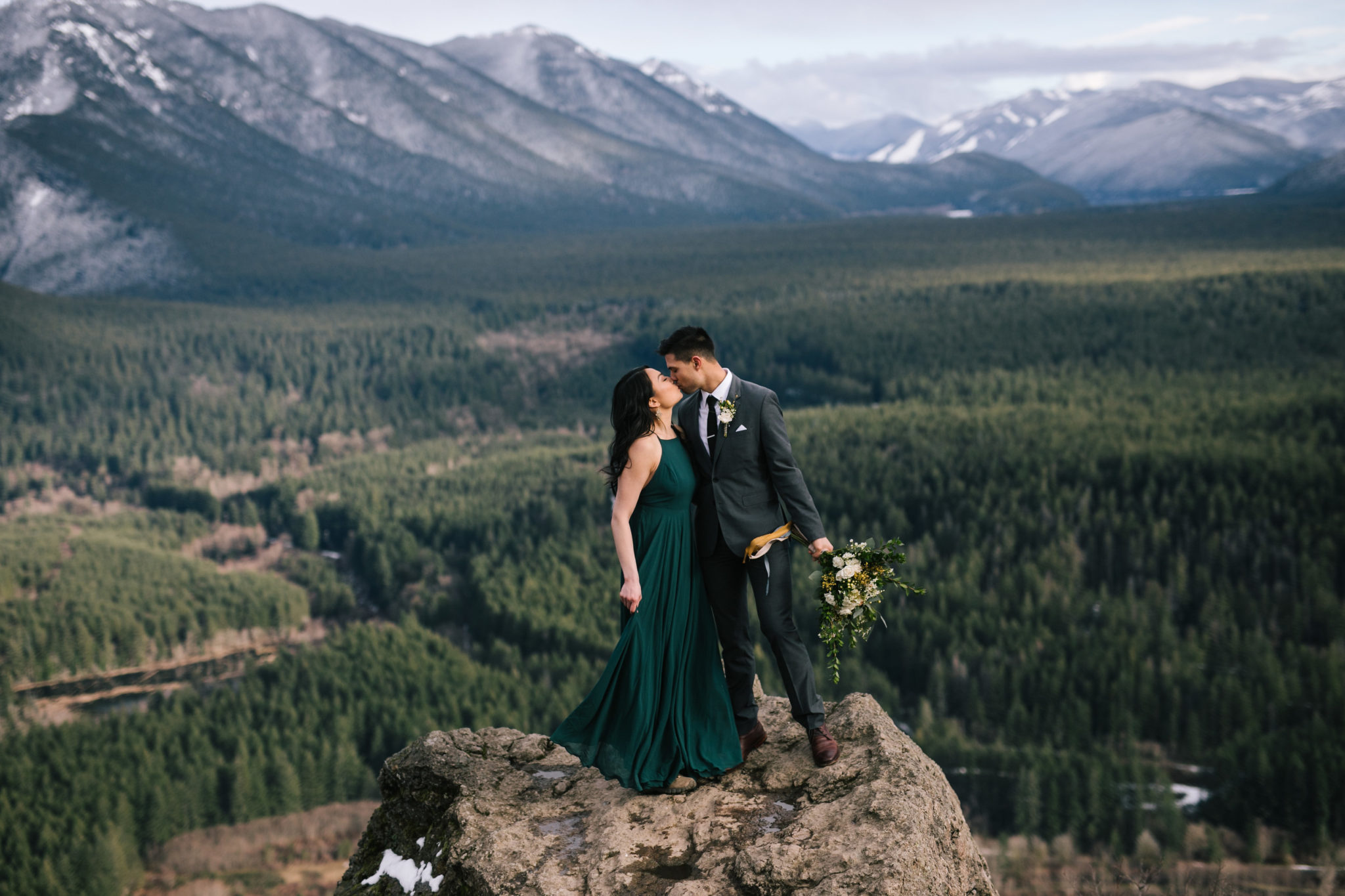 Elopements with Erika of The Greatest Adventure, wedding planning podcast, Rattlesnake ledge, couple