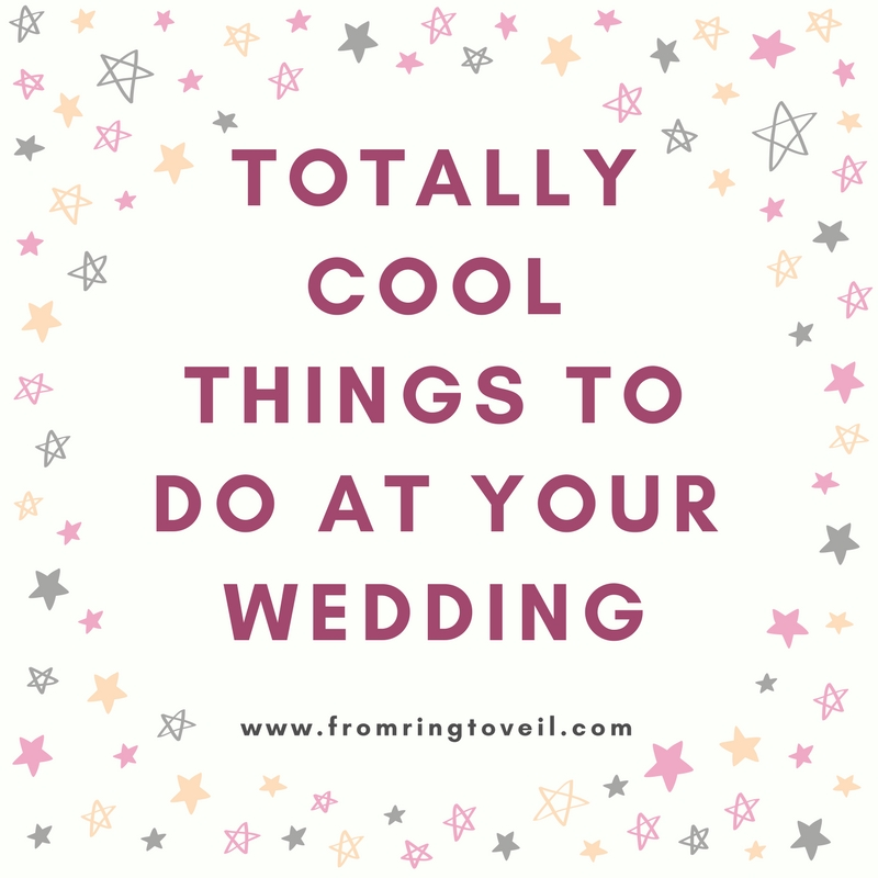 Totally Cool Things To Do At Your Wedding Episode #125