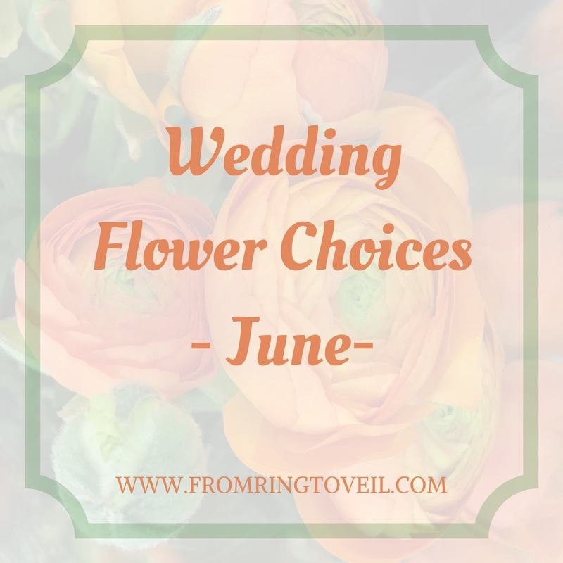 Wedding Flower Choices-June