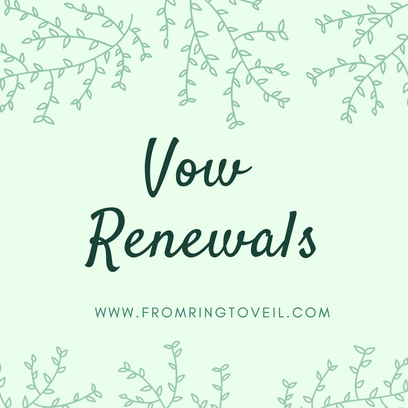 Ideas for Vow Renewals – Episode #127