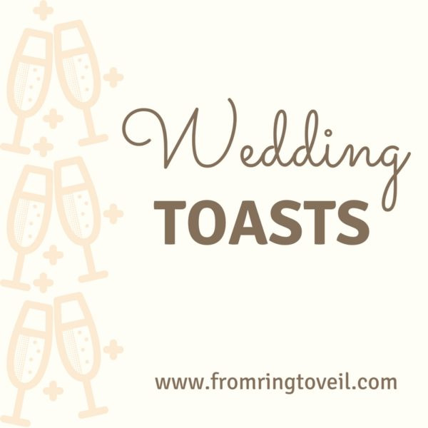 Wedding Toasts, From Ring to Veil, Wedding Planning Podcast