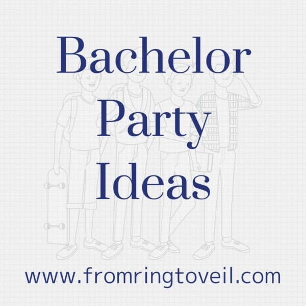 Bachelor Party Ideas, wedding planning podcast