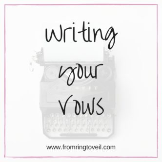 Writing you Vows, Wedding Planning Podcast