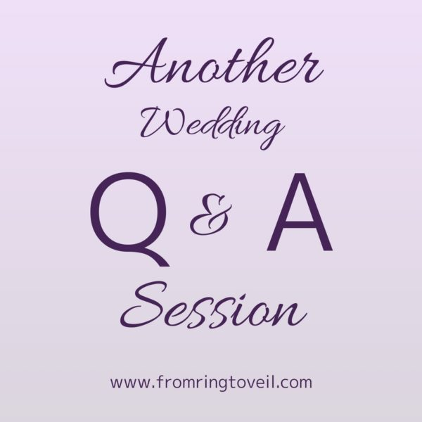 Another Wedding Q&A Session | Wedding Planning Podcast