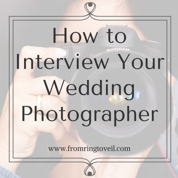 How to Interview Your Wedding Photographer, wedding planning podcast