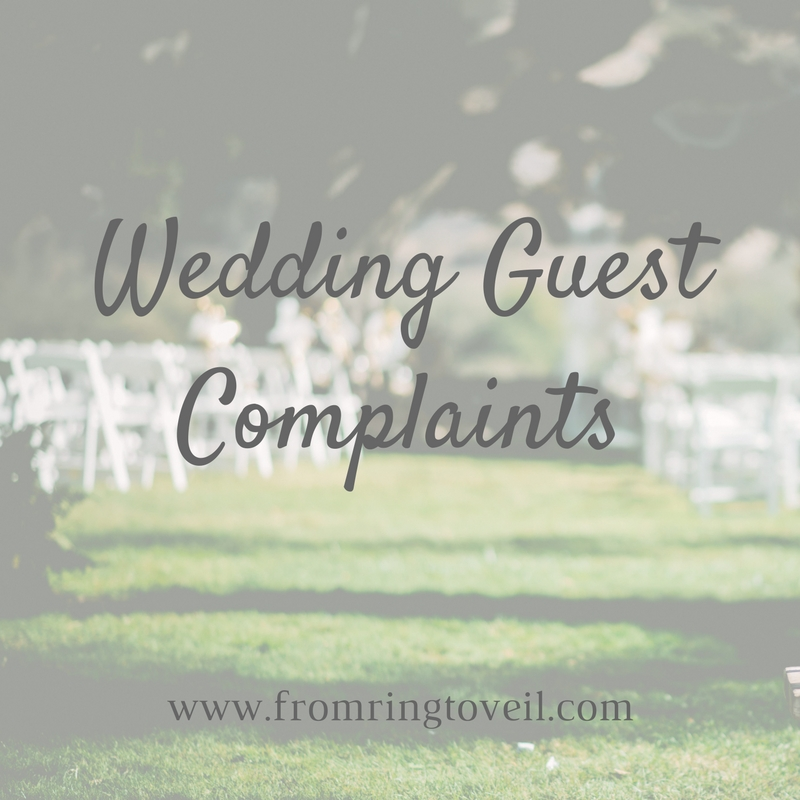 Wedding Guest Complaints – Episode #142