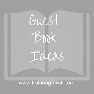 guest book ideas, wedding planning podcast