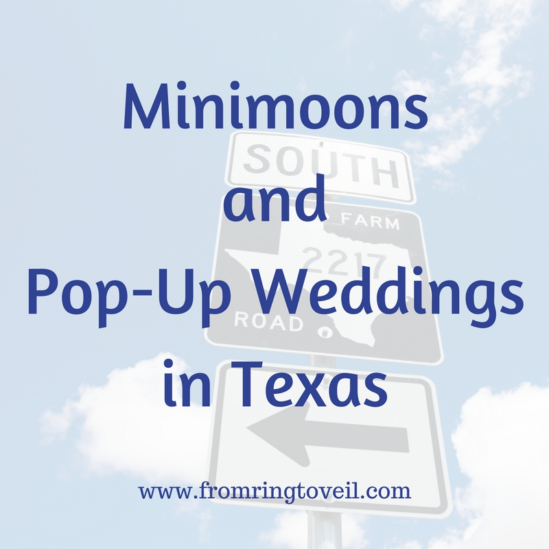 Minimoons and Pop-Up Weddings in Texas – Episode #151