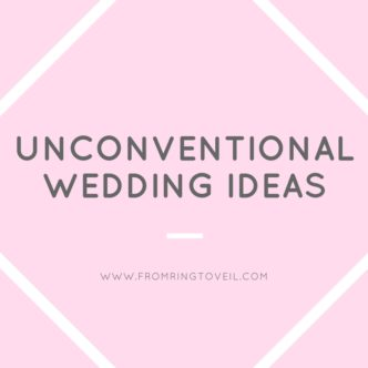 unconventional wedding ideas, from ring to veil., wedding planning podcast