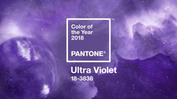 Pantone Color of the Year for 2018 is Ultra Violet