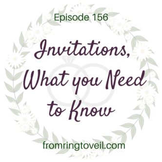 Invitations, What you Need to Know, From Ring to Veil, Wedding Planning