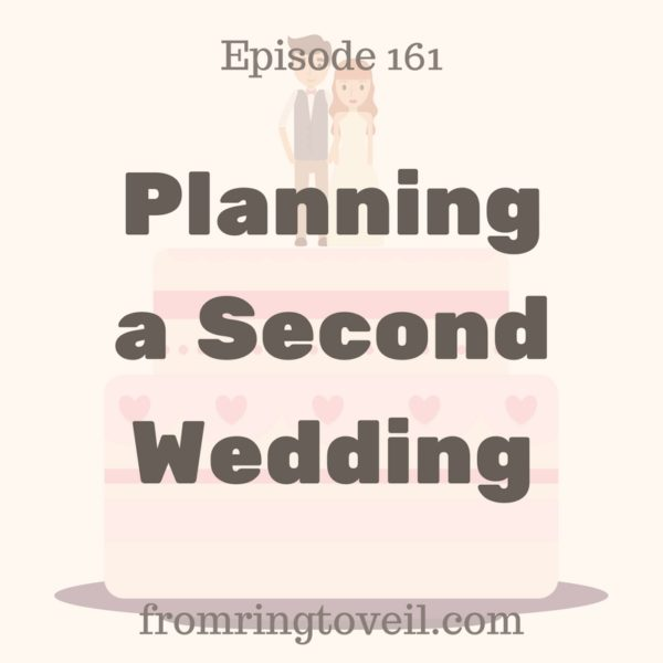 Planning a Second Wedding, podcast