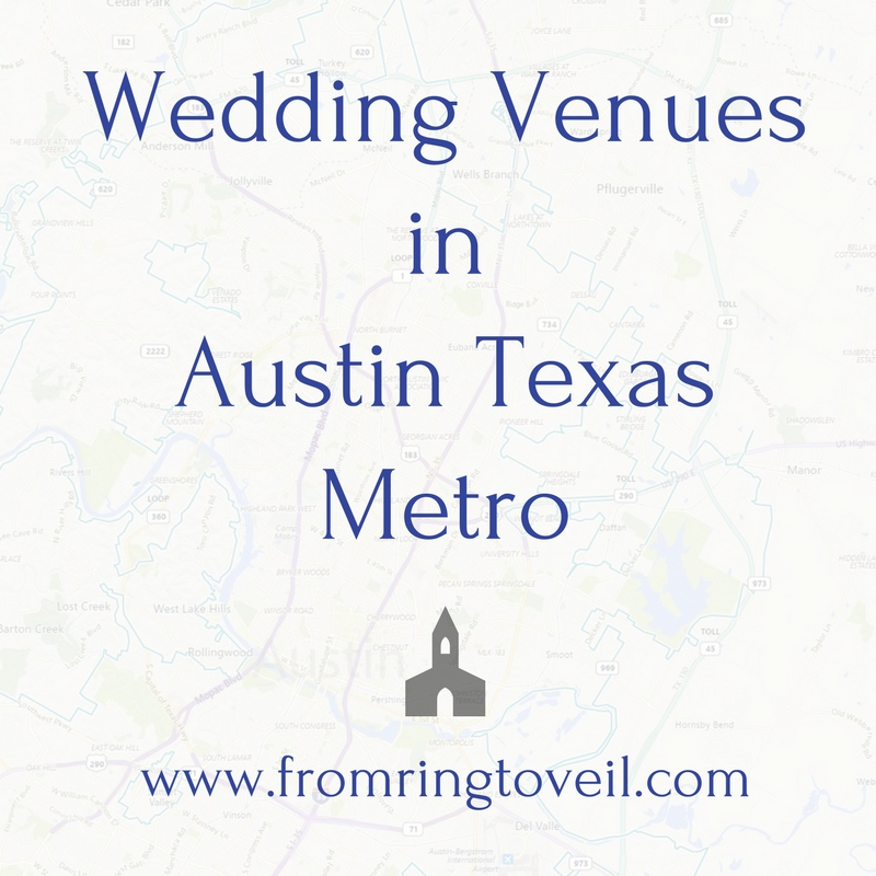 Austin Metro Wedding Venues - Episode #162