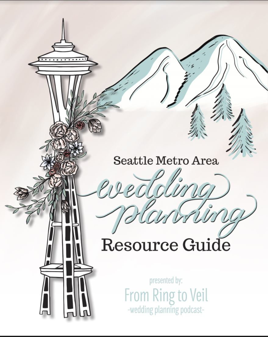 seattle metro area, wedding planning, resource guide, from ring to veil