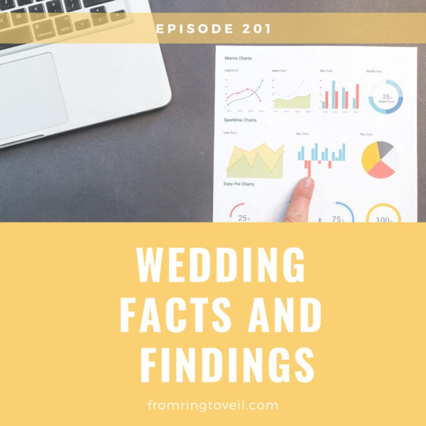 Wedding Facts and Findings, wedding planning, podcast