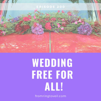 Wedding Free for All, wedding planning, podcast