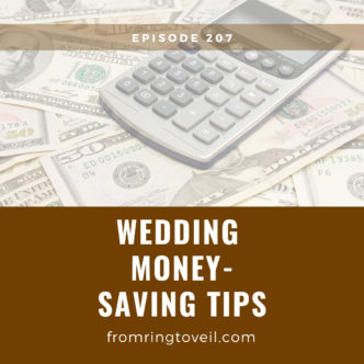 Wedding Money-Saving Tips, wedding planning, podcast